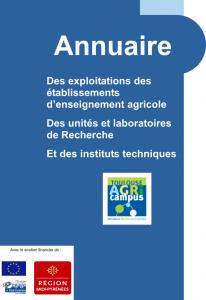 Annuaire des exploitations, laboratoires et instituts techniques