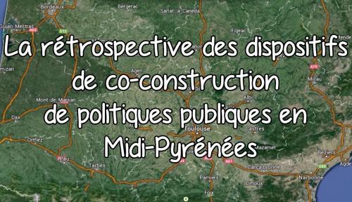 Rétrospective des dispositifs de co-construction de politiques publiques