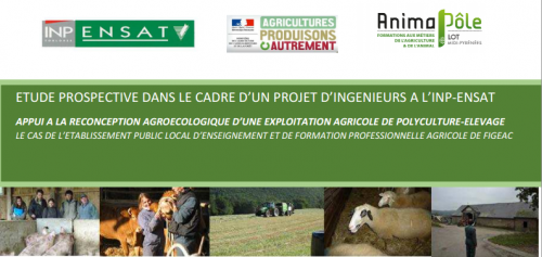 Appui à la reconception agroécologique d'une exploitation agricole de polyculture-élevage