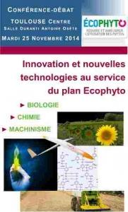 """Journée """"Innovation et nouvelles technologies au service du plan Ecophyto"""" - 25/11/2014"""